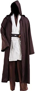 Adult Tunic Hooded Robe Outfit for Jedi Costume