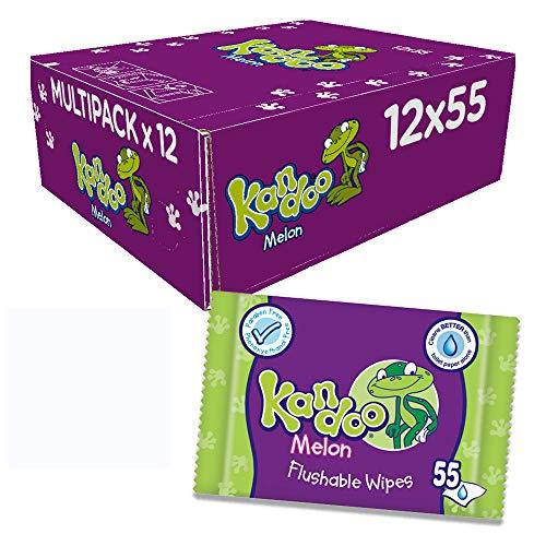 Kandoo Melone Nachfüllpack Windel–Pack 0F 12, insgesamt 660Tücher