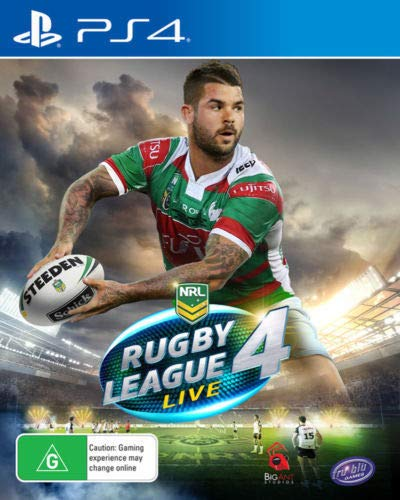 PS4 - RUGBY LEAGUE LIVE 4 (1 Games)