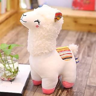 11 Inches Alpaca Plush Toy, Cartoon Fabric Llama Stitch Stuffed Doll Soft Animal Toys Birthday Gift Toys (Blue)