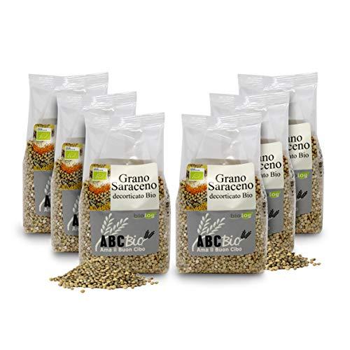 Carioni Food & Health Grano saraceno decorticato bio, 400g (Confezione da 6 Pezzi)