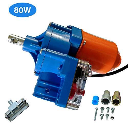 SIERINO Gewächshausfolie, Roll-Up-Motor, Folienroller, Rahmen für Schuppen, Automatisches Entlüftungssystem, 100M (80W)