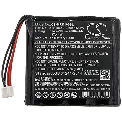 Bateria Para Marshall Kilburn Part No TF18650-2200-1S4PA 14.