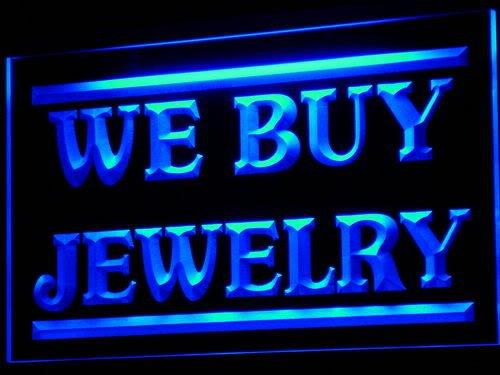 ADV PRO Enseigne Lumineuse i616-b We Buy Jewelry Shop Display Open Neon Light Sign