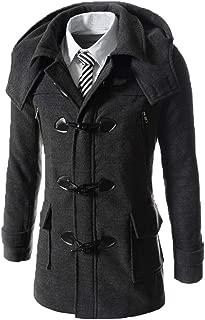 Men's Slim Long Duffle Coat