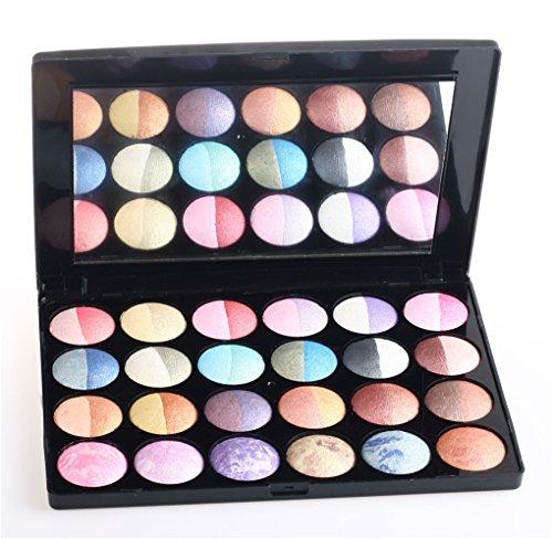 Pure Vie® 24 Colores Sombra De Ojos Paleta de Maquillaje Cosmética - Perfecto para Sso Profesional y Diario