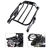 KOLEMO Black 2-UP Air Wing Luggage Rack Mounting Fit For Touring...