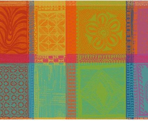 Garnier-Thiebaut 18064Mille Wax Creole Tisch-Sets Baumwolle 50x 40cm