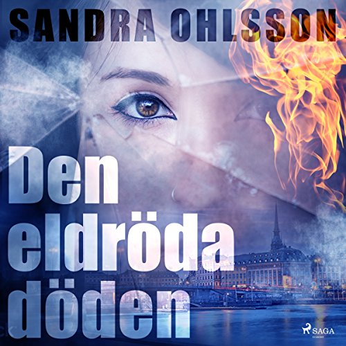 Den eldröda döden audiobook cover art