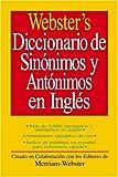 Webster's Diccionario de Sinonimos y Antonimos En Ingles