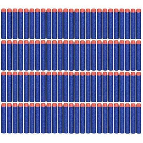 Vaddbank queenshiny 7.2cm Blue Foam 100 Stück Dart für Nerf N-Streik Elite Series Blasters Spielzeugpistole