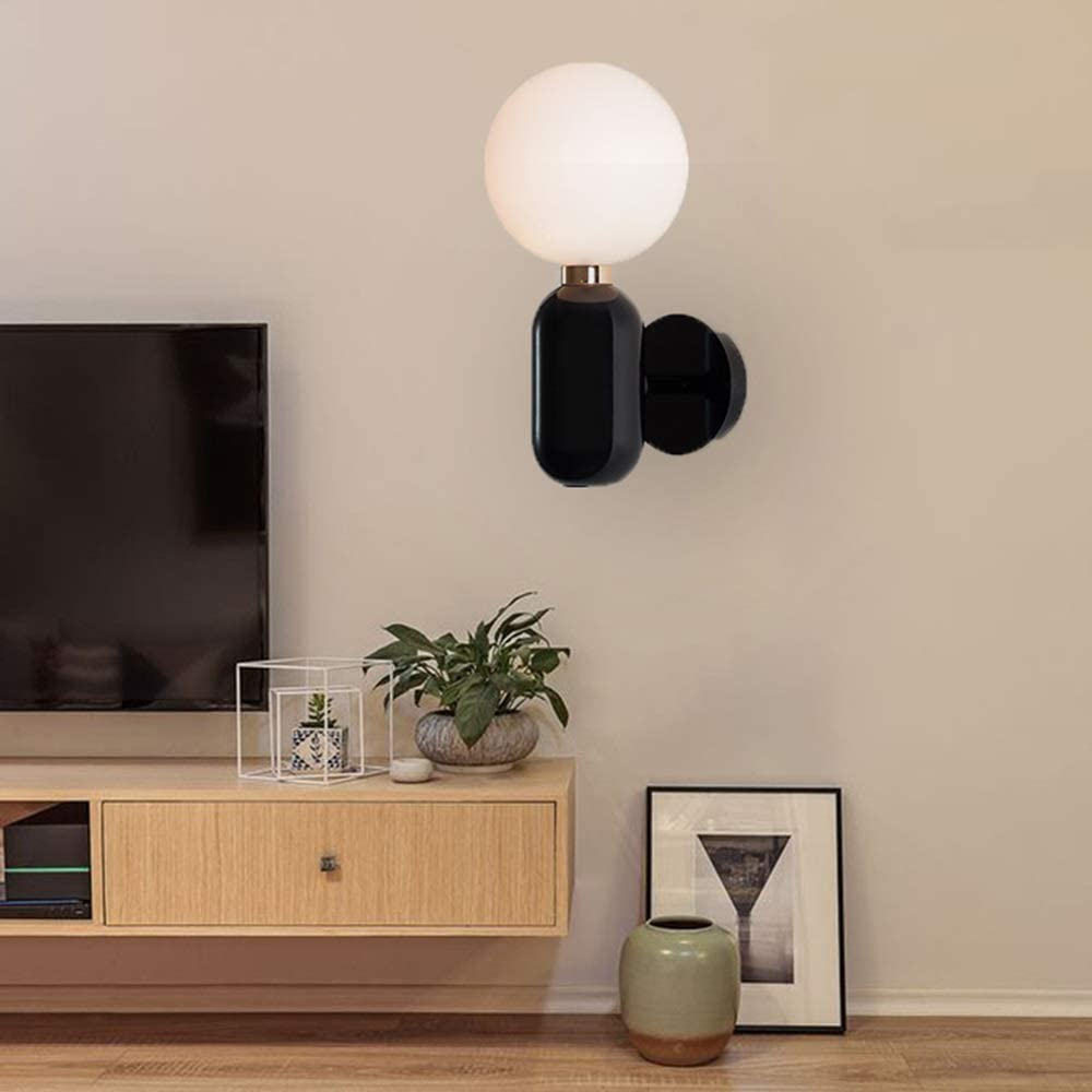 Raxinbang Wall Lights Three-Color Quality inspection Black 1533cm Japan's largest assortment Diameter Dimming