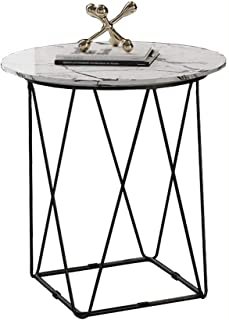 WALNUTA Petit Table Ronde Chambre Balcon Petit Table Basse Moderne Minimaliste Creative Coin Plusieurs Chambre Side Table