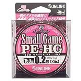 サンライン(SUNLINE) PEライン ソルティメイト スモールゲーム HG 150m 0.2号 3lb サクラピンク