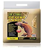 Desert Terrarium Substrate Exo Terra's Desert Terrariun Substrate is natural real desert sand with no added dyes or chemicals. The sand has been sifted to remove impurities. Excellent heat conductor. Stimulates natural digging and burrowing behaviour...