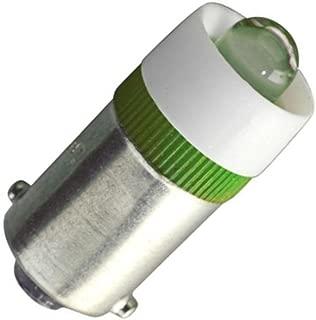 Eiko - LED-24-BA9S-G - Green Miniature Bayonet Base LED Light Bulb (Replaces 24MB, 28MB, 313, 757, 1818, 1819, 1820, 1829, 1843, 1864, 1873 Light Bulbs)