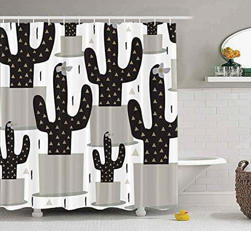 Cortina Ducha Divertida Cortina de Ducha para baño Avión de Papel Origami Volando baño de Puntos Limitado 180*200cm decoración del hogar, Juego de Impermeable Y Fácil De Limpiar. Impresión 3D HD.
