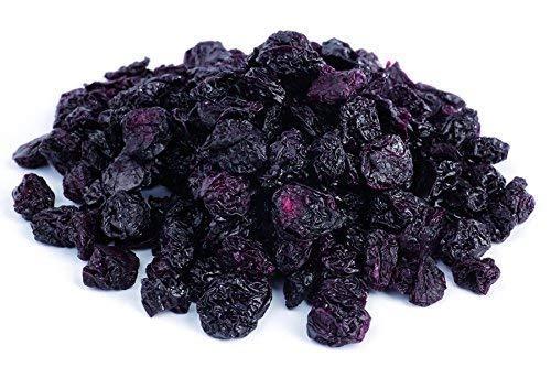 Bio Sauerkirschen ohne Schwefelzusatz, ungeölt 1 kg Fairtrade ungesüsste Kirschen Weichseln Rohkost 1000g Gramm