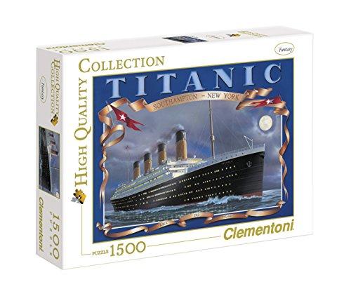 Clementoni - Puzzle de 1500 Piezas,, diseño Titanic (319602)