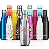 Proworks Performance Stainless SteelSports Water Bottle |Double Insulated Vacuum Flask for 12 HoursHot