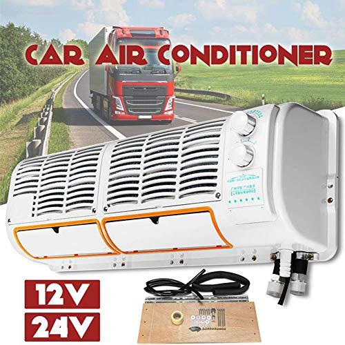 XKESBS Ventilador de enfriamiento para automóvil de 12 V / 24 V, evaporador Multifuncional del Aire Acondicionado, Adecuado para el...