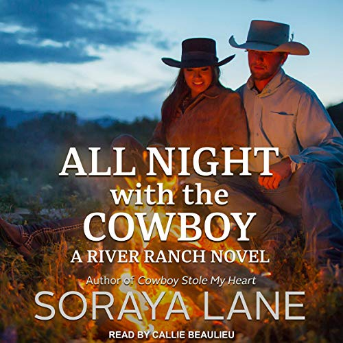 All Night with the Cowboy audiobook cover art