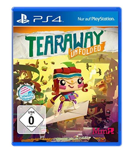Tearaway: Unfolded - [PlayStation 4]