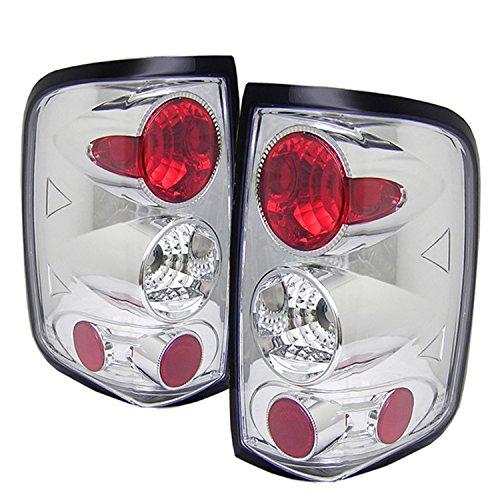 Spyder Auto Nissan Titan Black Altezza Tail Light