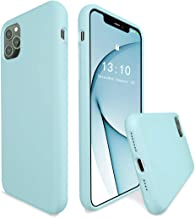 K TOMOTO Compatible with iPhone 11 Pro Max Case, [Upgraded] Full Covered Thickened Liquid Silicone Gel Rubber Cover with Microfiber Lining Protective Phone Case for iPhone 11 Pro Max 6.5