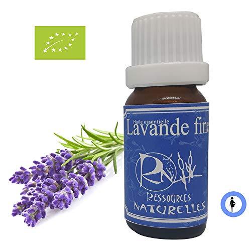 Ressources Naturelles - Huile Essentielle Lavande Fine Bio de Provence 30 Ml