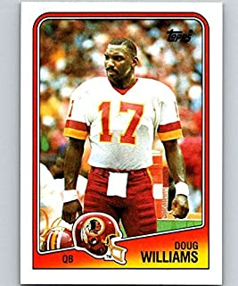 1988 Topps Football #8 Doug Williams Washington Redskins Official NFL Trading Card