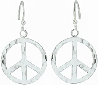 Best large peace sign earrings Reviews