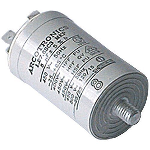First4Spares Universal 8UF Tumble Dryer Appliance Start Motor Spade Connector Capacitor