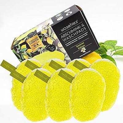 waschies® Waschbare Abschminkpads 'Yellow