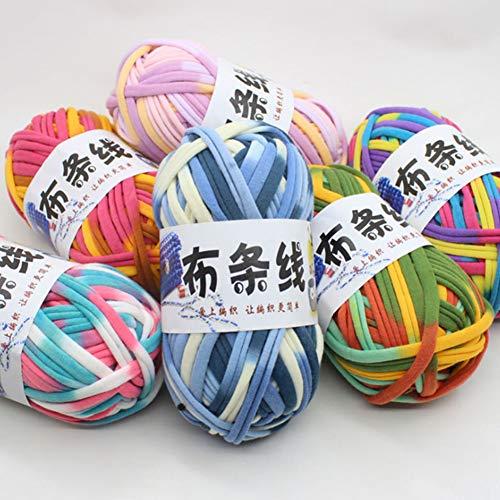 xmelug - Bolsa de Ganchillo de algodón, Tejido a Mano, Ideal para Cualquier Tipo de Ganchillo y Punto, poliéster, 34#