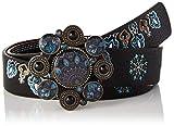 Desigual Belt_Deva Reversible Cintura, Black, 90 Donna...