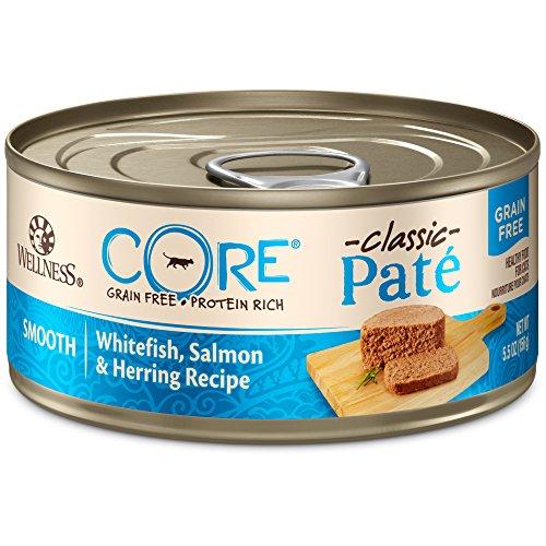Wellness CORE Classic Pate Whitefish, Salmon, and Herring wet cat food