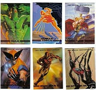 1993 SkyBox - Marvel Masterpieces Series II Complete Card SET
