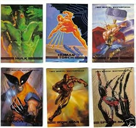 865753cbb50 Amazon.com  1993 SkyBox - Marvel Masterpieces Series II Complete Card SET   Unknown  Toys   Games