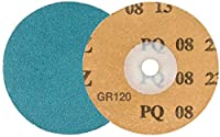 Walter Twist Topcut Quick Change Metal Surface Finishing Sanding Disc, 3 Diameter, Grit 120, Beige (Pack of 50) by Walter Surface Technologies