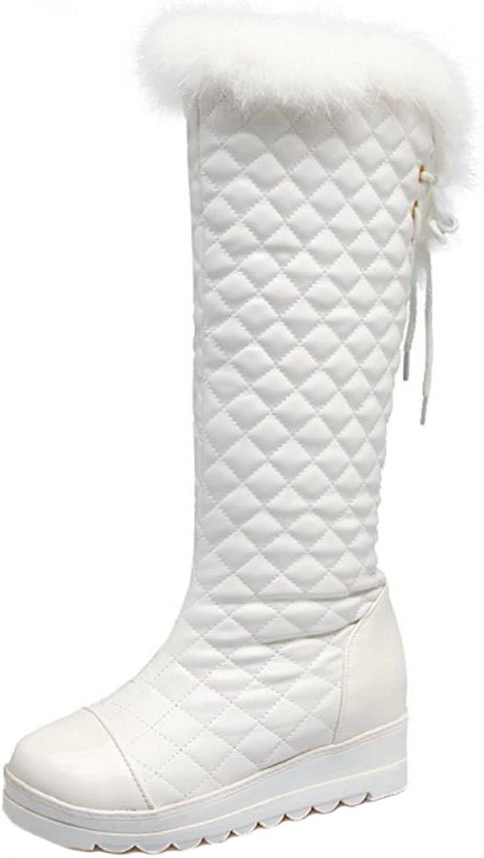 TAOFFEN Women's Boots Warm Lined