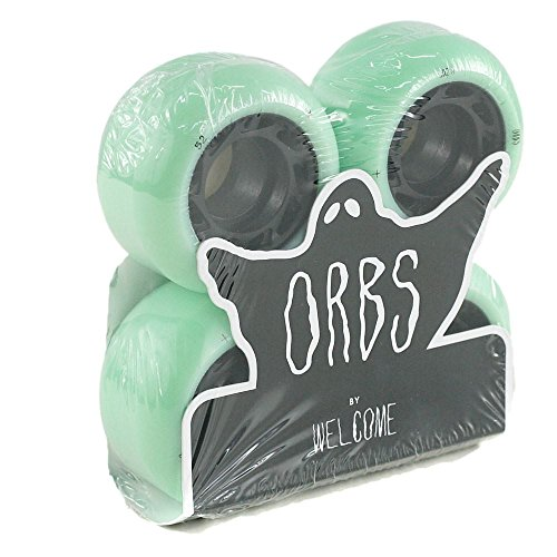 Welcome Orbs Ghost Lites Skateboard Rollen 104 A Hollow Core mint 52 mm