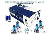 IMIP - CITROEN BERLINGO Box (M_) 1.9 D 70 4WD   Kit d'ampoules de phares au Xenon Super Blanc W5W H4 H4