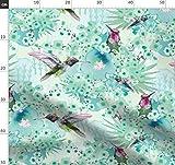 Kolibri, Vögel, Smaragdgrün, Grün, Kompliziert Stoffe -