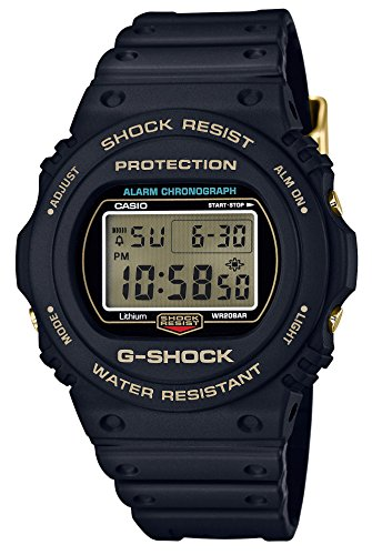 [カシオ] 腕時計 ジーショック 35th Anniversary DW-5735D-1BJR メンズ ブラック