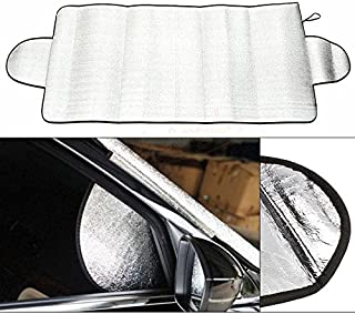 BeeGa Universal Portable Car Windshield Anti Snow Frost Ice Dust Sun Shade Cover UK