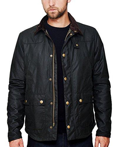 Barbour Reelin Mens Wax Jacket Sage XL