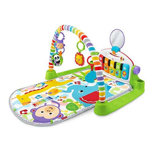 フィッシャープライスあんよでキック!4WAYバイリンガル・ピアノジム0か月~赤ちゃん幼児子ども幼児ベビージムプレイジムプレイマットメリーFWT10