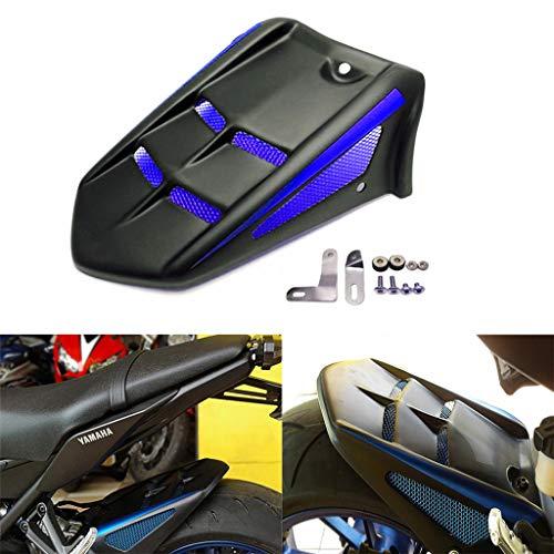 Moto Parafango Posteriore Parafango Accessori Per Yamaha MT-09 FZ-09 FJ-09 XSR900 MT09 Tracer 2014-2018 (Blu)