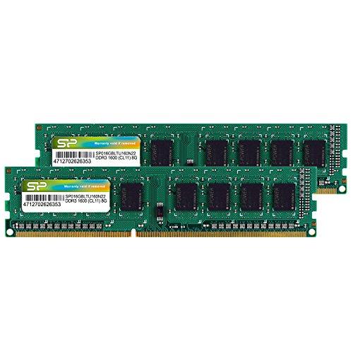 SiliconPower(シリコンパワー)『DDR3-1600(SP016GBLTU160N22)』